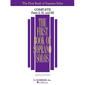 G--Schirmer-First-Book-Of-Soprano-Solos-Complete-Parts-1--2-and-3-Standard