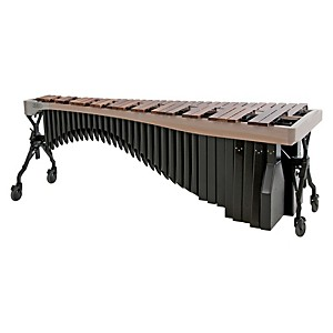 Adams-Alpha-Series-4-3-Octave-Rosewood-Marimba-with-White-Wash-Rails-Black-Resonators