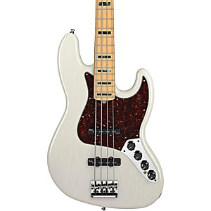 Fender-American-Deluxe-Jazz-Bass-White-Blonde-Maple-Fretboard