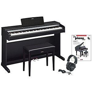 Yamaha-YDP-142-Digital-Piano-Package-2-Black-Walnut
