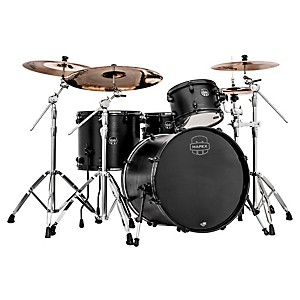 Mapex-Meridian-Black-Raven-4-Piece-Shell-Pack-Black