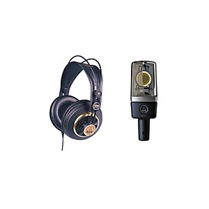 AKG-C214-and-K240-Mic-and-Headphone-Package-Standard