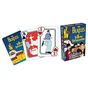 Hal-Leonard-Beatles-Yellow-Submarine-Playing-Cards-Standard