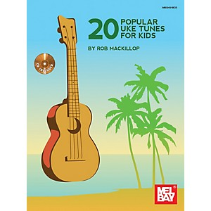 Mel-Bay-20-Popular-Uke-Tunes-For-Kids-Standard