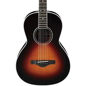 Ibanez-AVN1BS-Artwood-Vintage-Parlor-Acoustic-Guitar-Brown-Sunburst