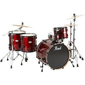 Pearl-Vision-5-Piece-Rock-Shell-Pack-Wine-Red
