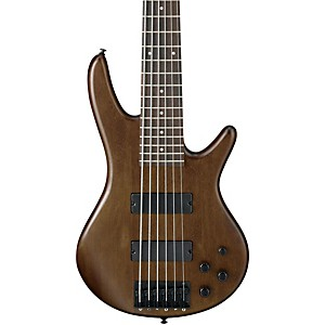 Ibanez-GSR206-6-String-Electric-Bass-Walnut-Flat-finish-Rosewood-fretboard