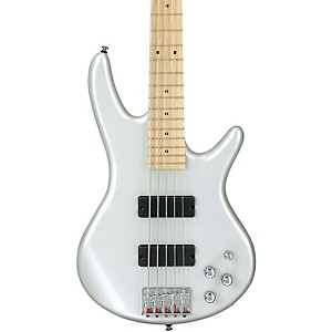 Ibanez-GSR205-5-String-Electric-Bass-Pearl-White-Maple-fretboard