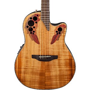 Ovation-Celebrity-Elite-Plus-Acoustic-Electric-Guitar-Figured-Koa-Natural