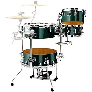 Tama-Silverstar-Cocktail-Jam-4-Piece-Kit-with-pedal-Chameleon-Sparkle