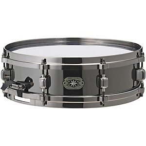 Tama-Metalworks-MT1455DBN-Snare-with-Evans-Black-Chrome-Head-14x4-Inch