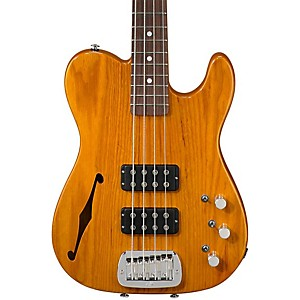 G-L-ASAT-Semi-Hollow-Electric-Bass-Guitar-Honeyburst