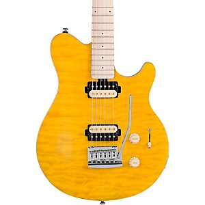 Sterling-by-Music-Man-AX3-Electric-Guitar-Translucent-Yellow