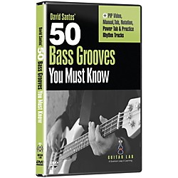 eMedia 50 Bass Grooves You Must Know DVD (TF06133)