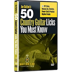 eMedia 50 Country Guitar Licks You Must Know! (DVD) (TF08095)