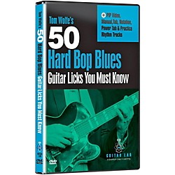 eMedia 50 Hard Bop Blues Licks You Must Know DVD (TF01141)