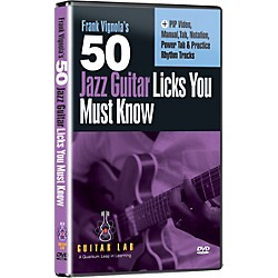 eMedia 50 Jazz Guitar Licks You Must Know (DVD) (TF08092)