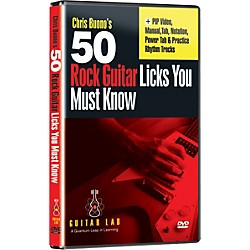 eMedia 50 Rock Guitar Licks You Must Know (DVD) (TF08093)