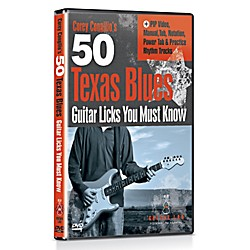 eMedia 50 Texas Blues Licks You Must Know DVD (TF01124)