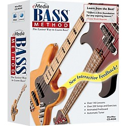 eMedia Bass Method 1 CD-ROM Version 2.0 (EG07103)