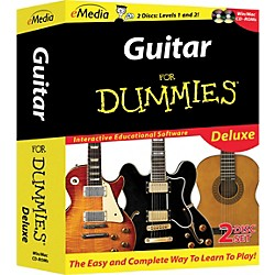 eMedia Guitar For Dummies Deluxe 2-CD-ROM Set (FD09103)