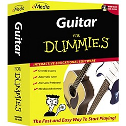 eMedia Guitar For Dummies Level 1 (CD-ROM) (FD12091)