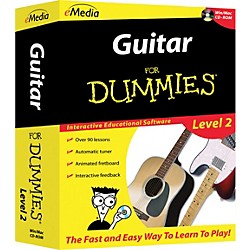 eMedia Guitar For Dummies Level 2 - CD-ROM (FD09107)