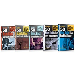 eMedia Guitar Lab 50 Licks Collection - 5 DVD Set (TF08098)