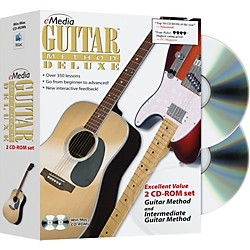 eMedia Guitar Method Deluxe 2 CD-ROM Set (EG10039)