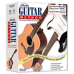 eMedia Guitar Method v 5.0 (CD-ROM) (EG10091)