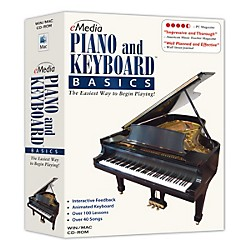 eMedia Piano & Keyboard Basics v3.0 (EK02104)