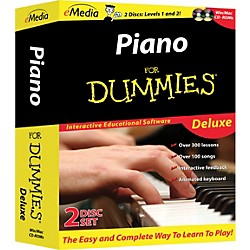 eMedia Piano For Dummies Deluxe 2-CD-ROM Set (FD09105)