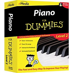 eMedia Piano For Dummies Level 2 - CD-ROM (FD09108)