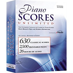 eMedia Piano Scores Unlimited Software DVD (IP04093)