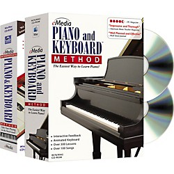 eMedia Piano and Keyboard Method Deluxe 2 CD-ROM Set (EG01030)