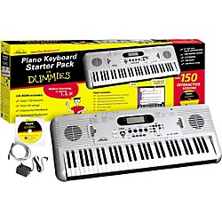eMedia Piano for Dummies 61-Key Keyboard Starter Pack (FD05107)