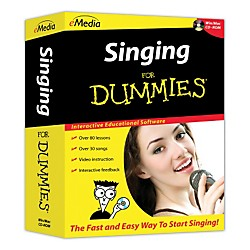 eMedia Singing For Dummies (FD08111)