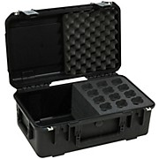 SKB iSeries Injection Molded Case For 12 Microphones