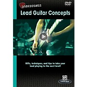 Alfred iVideosongs Lead Guitar Concepts DVD