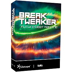 iZotope BreakTweaker Modern Virtual Drum Software (30-BREAKTWEAKER)