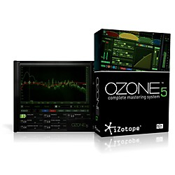iZotope Ozone 5 Complete Mastering System (Ozone5RetailBox)