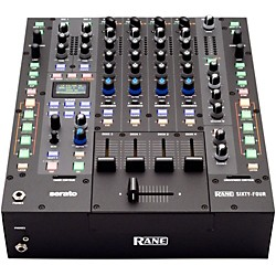 rane Sixty-Four 4-Channel DJ Mixer with Serato DJ Software (Sixty-Four)
