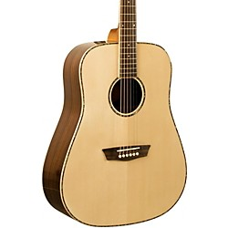 washburn WD 25S Sitka Spruce Top Dreadnought Acoustic Guitar with Rosewood Back & Sides (WD25S)