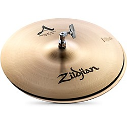 zildjian A Series New Beat Hi-Hat Cymbal Pair (A0136)