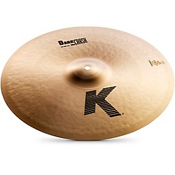 zildjian K Dark Thin Crash Cymbal (K0902)