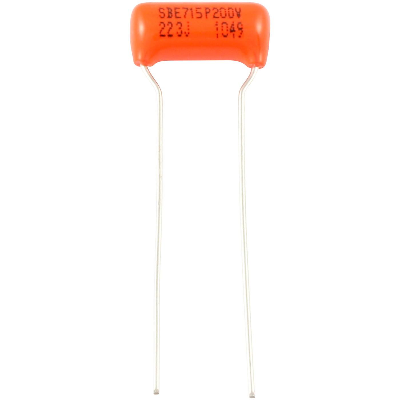 Allparts .022 MFD Orange Drop Capacitors (3 pieces) thumbnail