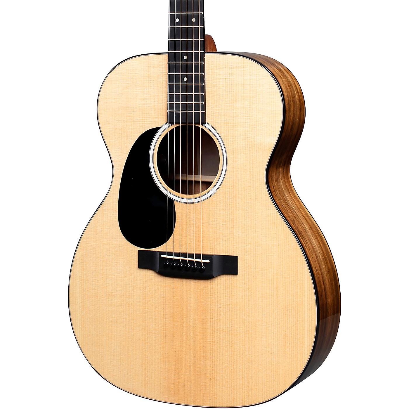 Martin 000-12EL Road Series KOA Fine Veneer Auditorium Left HandedAcoustic-Electric Guitar thumbnail