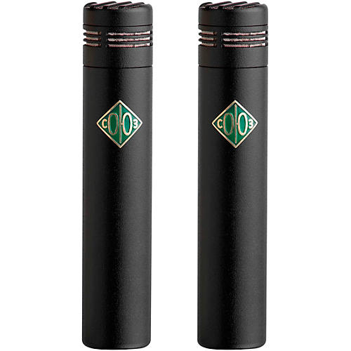 Soyuz Microphones 013 FET-M-B Matched Pair Small Diaphragm FET Microphones Black Finish (cardioid capsule, 10dB pad) thumbnail