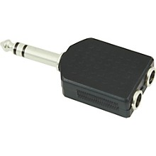 "American Recorder Technologies 1/4"" Male Stereo to Two 1/4"" Female Stereo Adapter"