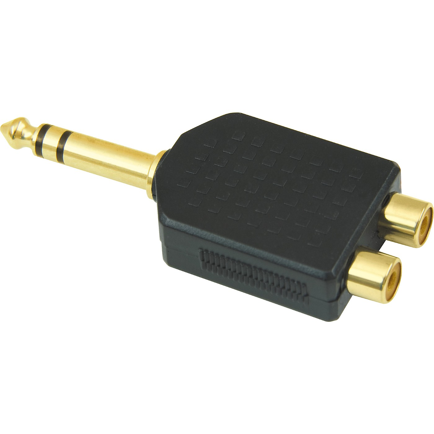 American Recorder Technologies 1/4 inch Male Stereo to 2 RCA Female Adapter thumbnail